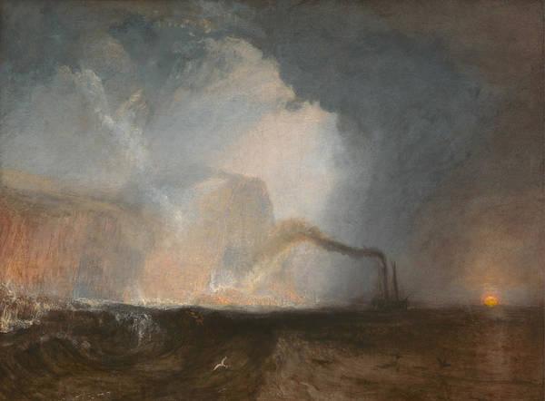J. M. W. Turner Painting - Staffa, Fingal's Cave by JMW Turner