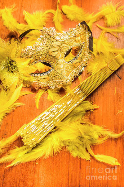 Masquerade Wall Art - Photograph - Stage And Dance Still Life by Jorgo Photography - Wall Art Gallery