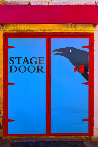 Entry Photograph - Stage Door by Garry Gay