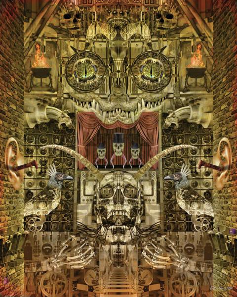 Gargoyle Digital Art - Stage Fright by Bill Jonas