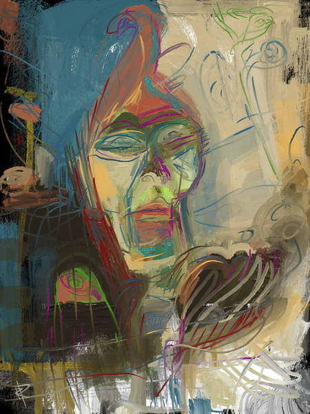 Wall Art - Mixed Media - Stage Fright by Russell Pierce