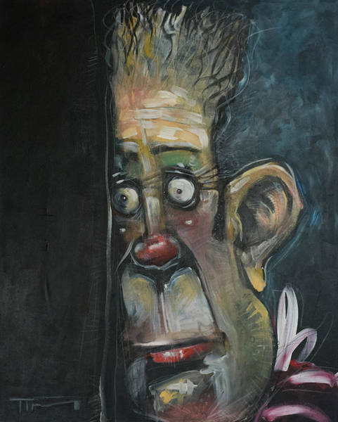 Painting - Stage Fright by Tim Nyberg