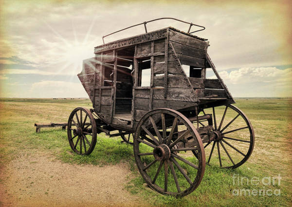 Photograph - Stagecoach Days by Sharon Seaward