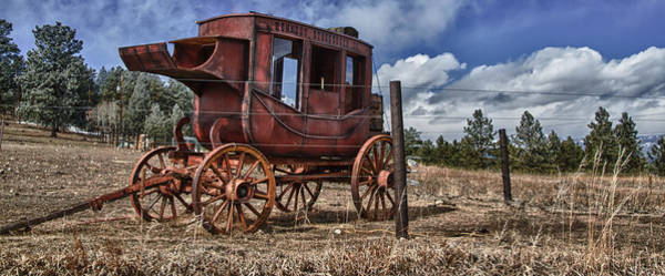 Photograph - Stagecoach I by Ron White