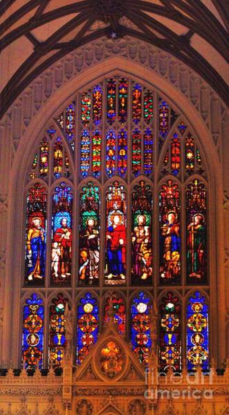 Wall Art - Photograph - Stained Glass At Trinity Church New York by Marcus Dagan