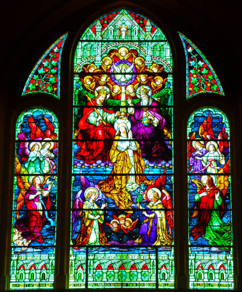 Photograph - Stained Glass by Bill Cannon