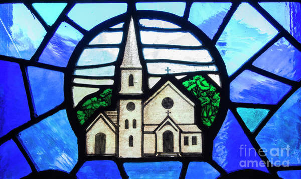 Wall Art - Photograph - Stained Glass Church by Juli Scalzi