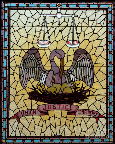 Photograph - Stained Glass by Granger