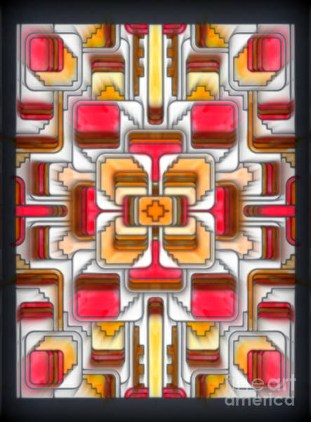 Mixed Media - Stained Glass II by Wbk