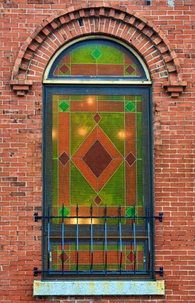 Photograph - Stained Glass Window by Tatiana Travelways