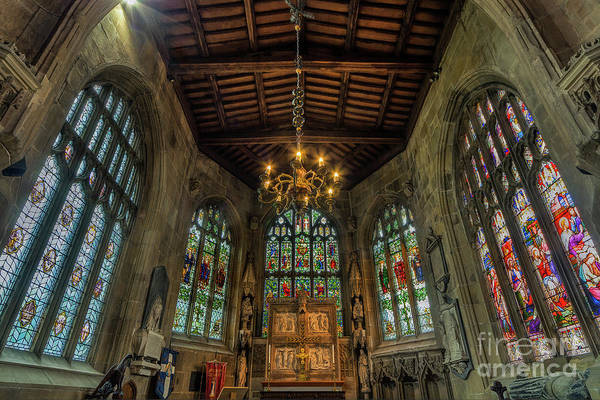 Photograph - Stained Glass Windows by Ian Mitchell
