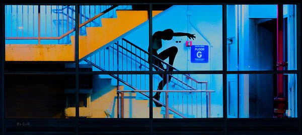 Photograph - Stair Dancing by Bob Orsillo