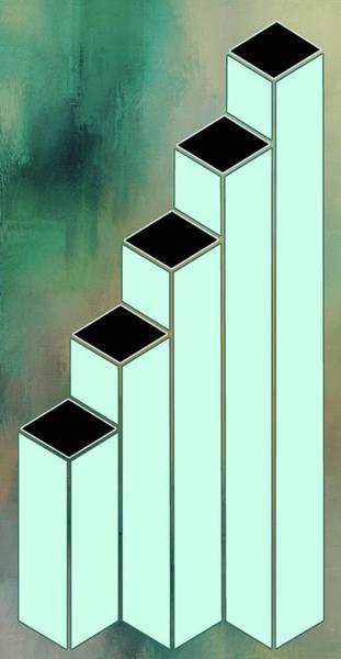 Digital Art - Stair Illusion by Ericamaxine Price