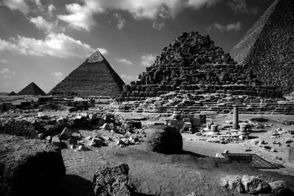 Photograph - Stair Stepped Pyramids by Donna Corless