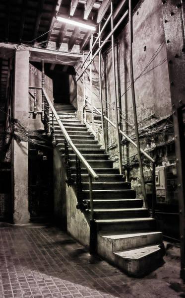 Photograph - Staircase Havana Cuba by Joan Carroll