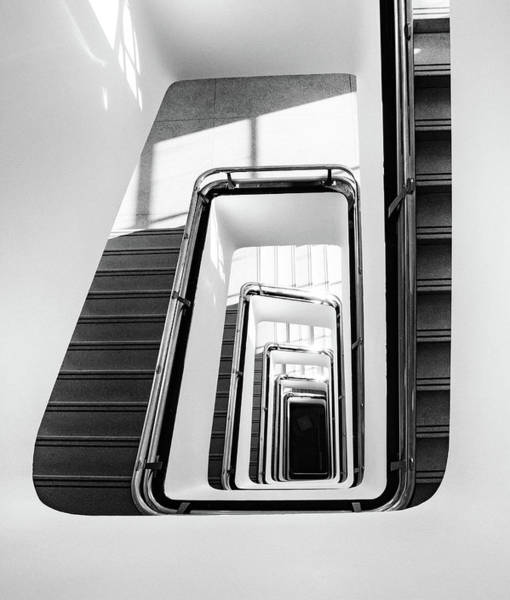 Photograph - Staircase IIi by Marzena Grabczynska Lorenc