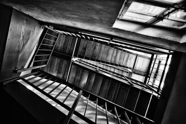 Entrance Photograph - Staircase by Nailia Schwarz