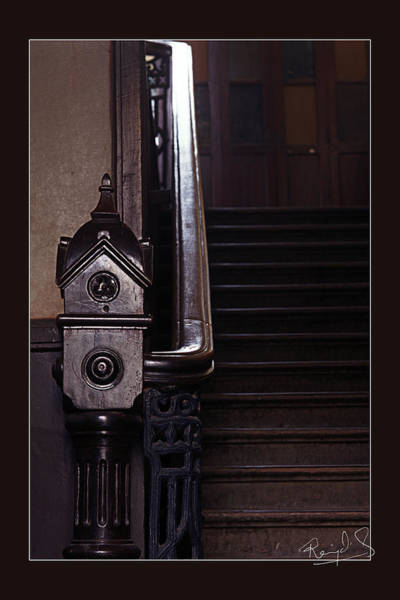 Test Of Time Photograph - Stairs 2 by Rajat Ghosh