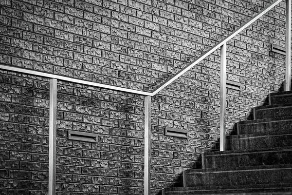 Photograph - Stairs And Railing - The Wharf by Stuart Litoff