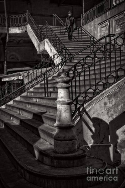 Photograph - Stairs In The Markethall  by Heiko Koehrer-Wagner