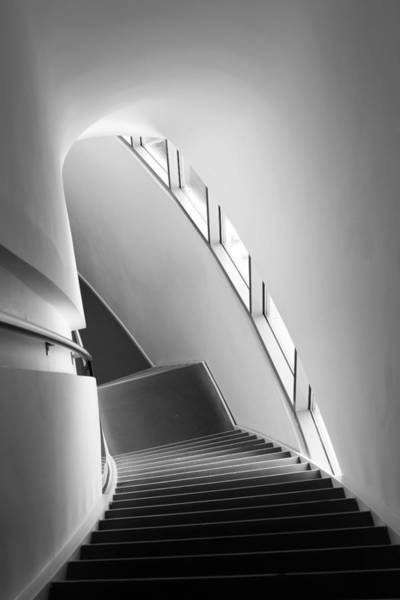 Museum Photograph - Stairs by Liesbeth Van Der Werf