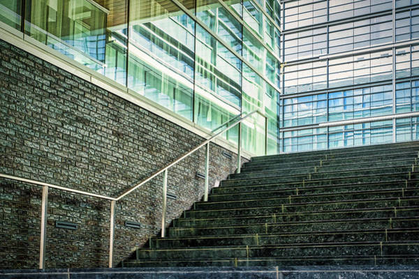 Photograph - Stairs To Reflections - The Wharf - Washington by Stuart Litoff