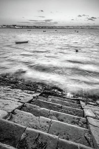 Konica Wall Art - Photograph - Stairs To The Sea, Skerries, Ireland by Giuseppe Milo