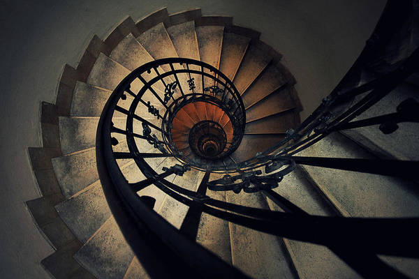Stairs Wall Art - Photograph - Stairs by Zoltan Toth