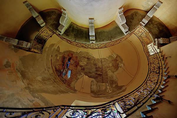 Photograph - Stairway Ellipse - Scala Ellisse by Enrico Pelos