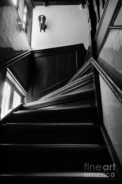 Wall Art - Photograph - Stairway In Amsterdam Bw by RicardMN Photography