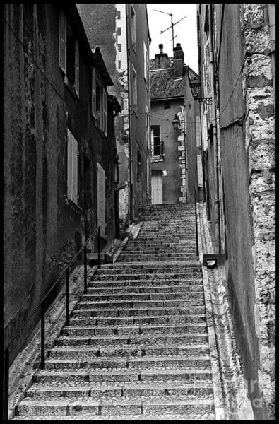 Wall Art - Photograph - Stairway In France by Madeline Ellis
