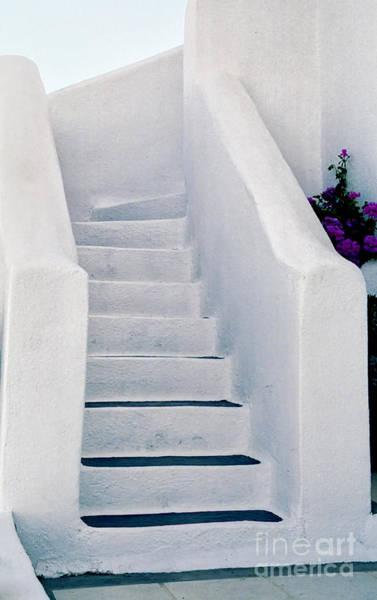 Wall Art - Photograph - Stairway In Mykonos by Madeline Ellis