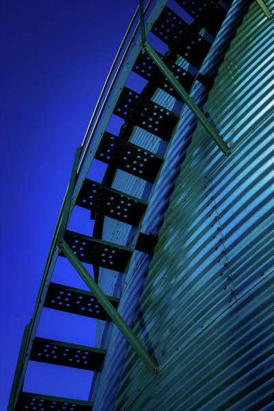 Photograph - Stairway Into The Blue 4350 H_2 by Steven Ward