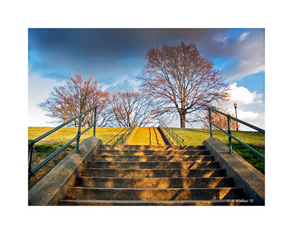 Wall Art - Photograph - Stairway To Federal Hill by Brian Wallace