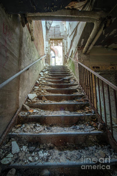 Wall Art - Photograph - Stairway To Filth  by Michael Ver Sprill