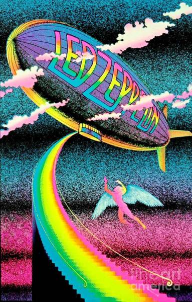 Wall Art - Painting - Stairway To Heaven Poster by Pd