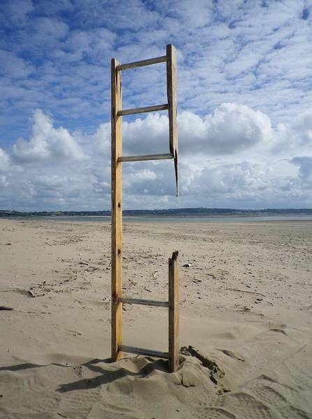 Rungs Wall Art - Photograph - Stairway To Heaven by Richard Brookes