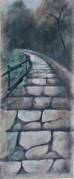 Painting - Stairway To Heaven by Suzn Smith