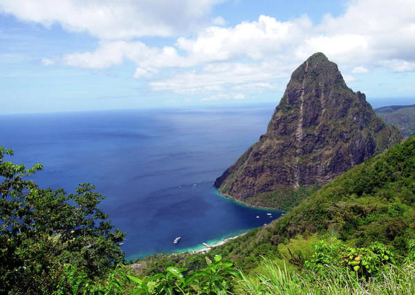 Photograph - Stairway To Heaven View, Pitons, St. Lucia by Kurt Van Wagner