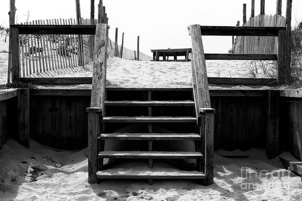 Stairway To Heaven Wall Art - Photograph - Stairway To Long Beach Island Heaven by John Rizzuto