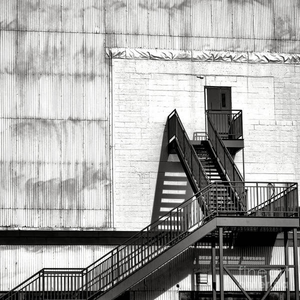 Wall Art - Photograph - Stairway To Less Than Heaven  by Olivier Le Queinec