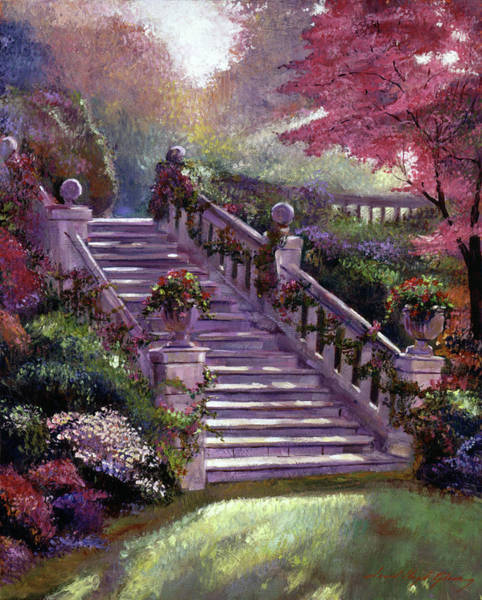 Estate Painting - Stairway To My Heart by David Lloyd Glover