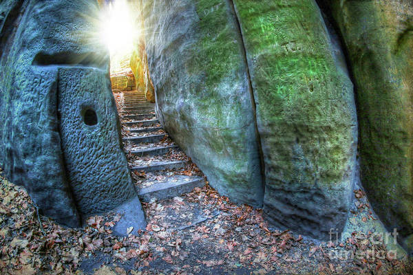 Wall Art - Photograph - Stairway To The Light by Michal Boubin