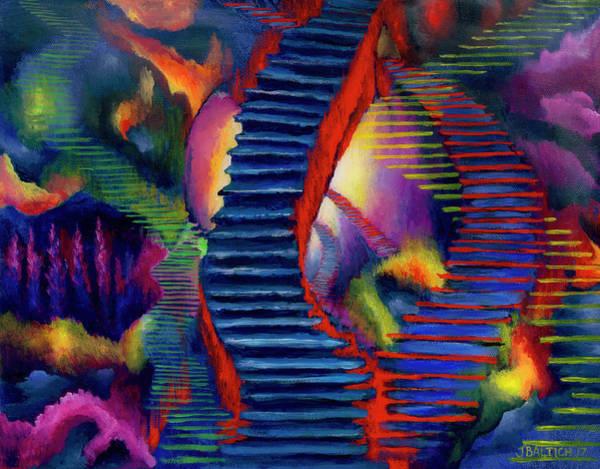 Painting - Stairways by Joe Baltich