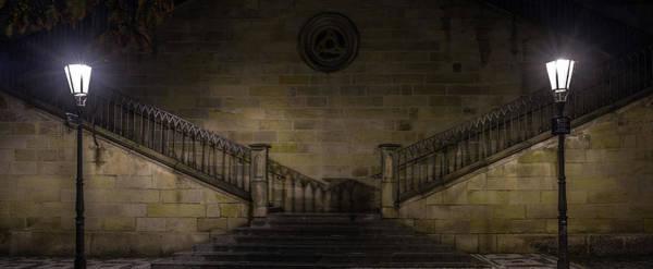 Wall Art - Photograph - Stairwell Charles Bridge Prague by Steve Gadomski