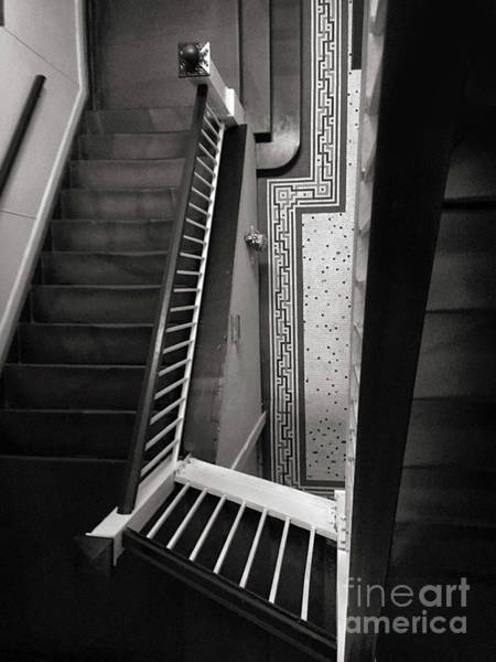 Wall Art - Photograph - Stairwell by HD Connelly