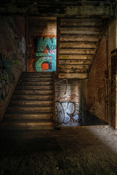 Photograph - Stairwell by Lindy Grasser