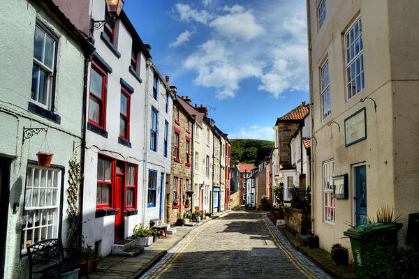 Photograph - Staithes by Sarah Couzens