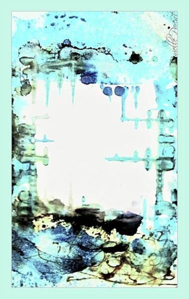 Painting - Stalactites #4 by Danielle Parent