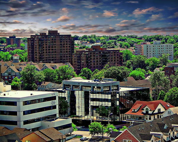 Photograph - Stamford Cityscape by Anthony Dezenzio